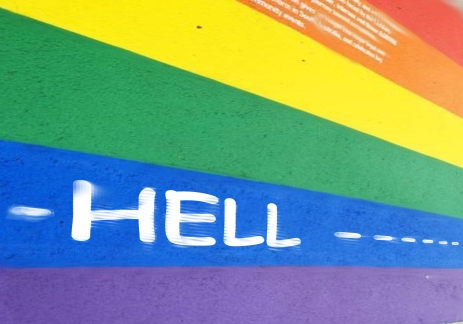 Rainbow Walk to Hell